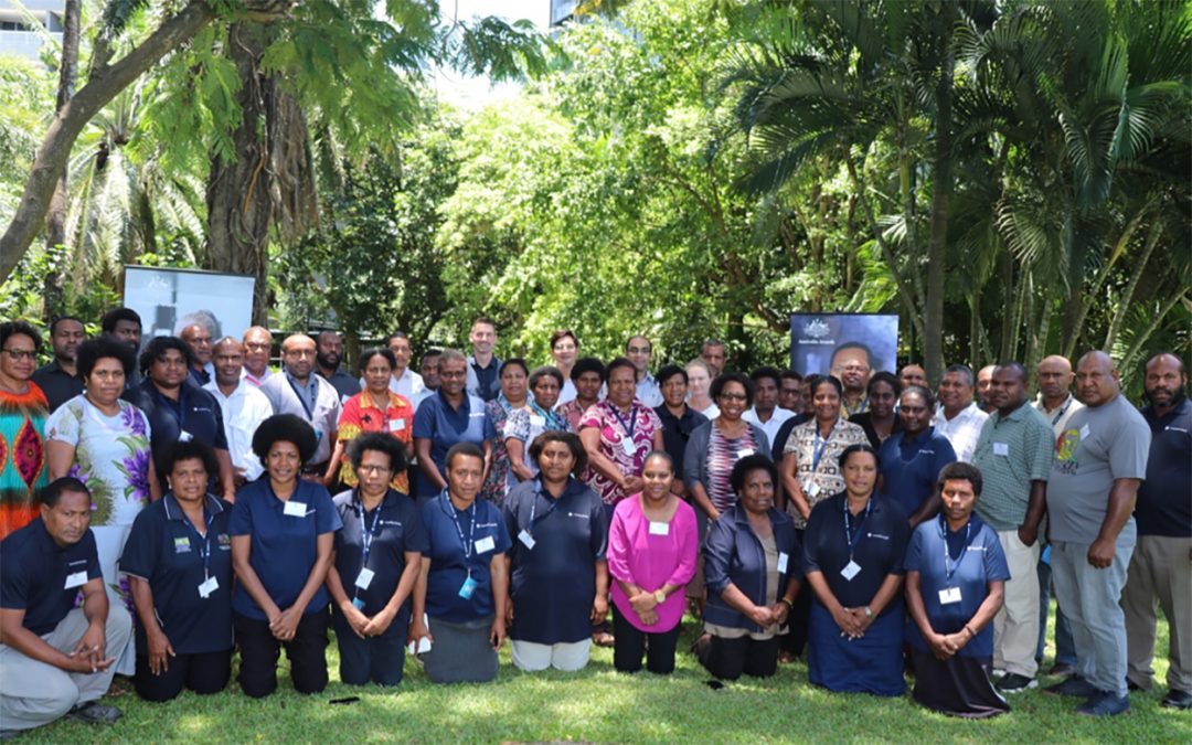 Short Course participants prepare to make positive health changes for PNG