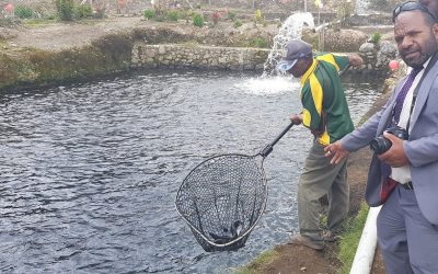 Innovative inland fish farm delivers for Highlands communities