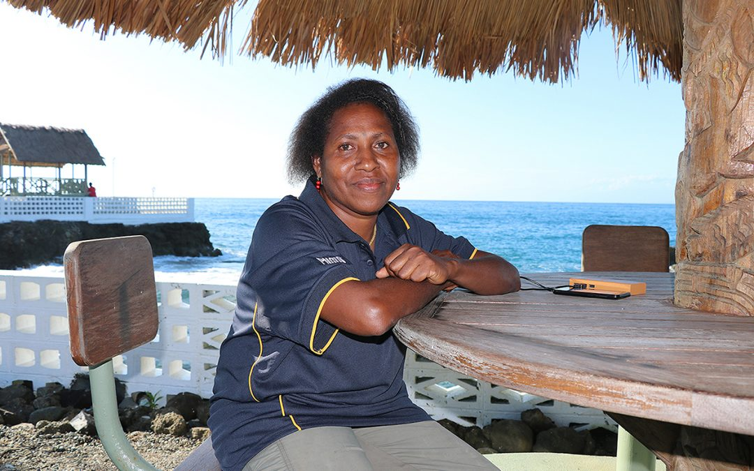 Going solo no barrier for community-focused Madang midwife