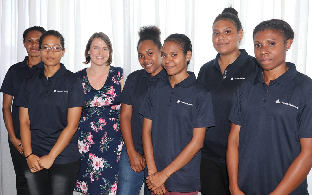 Six female scholars chart course for maritime career