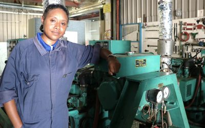 Women in Maritime leading by example