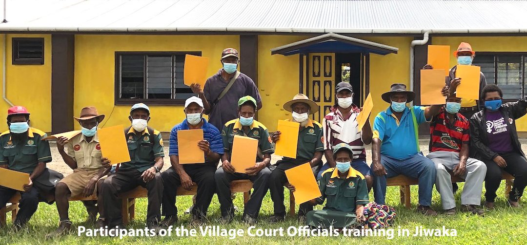 Empowering women in Jiwaka Province with legal aid
